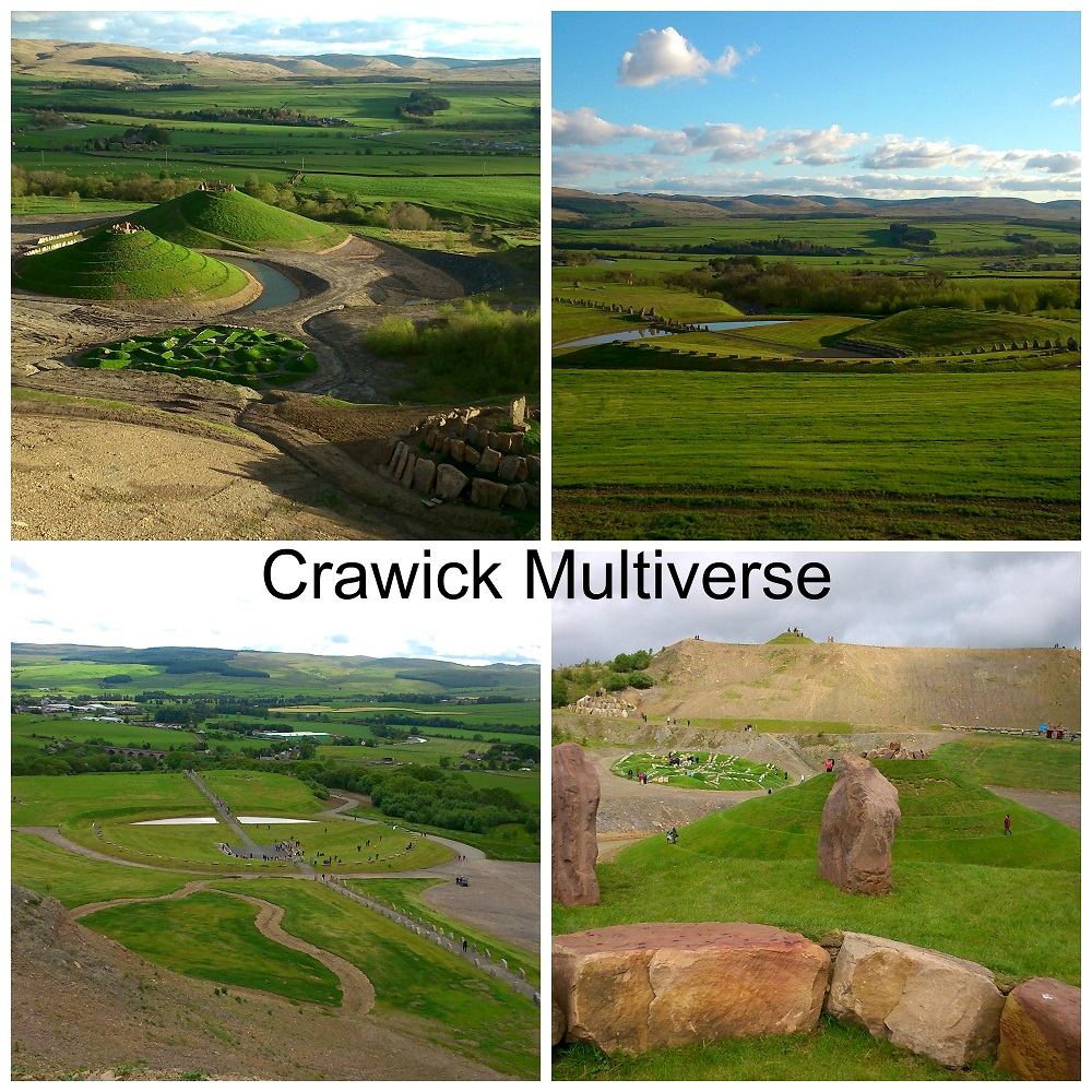 Photographs of Crawick Multiverse